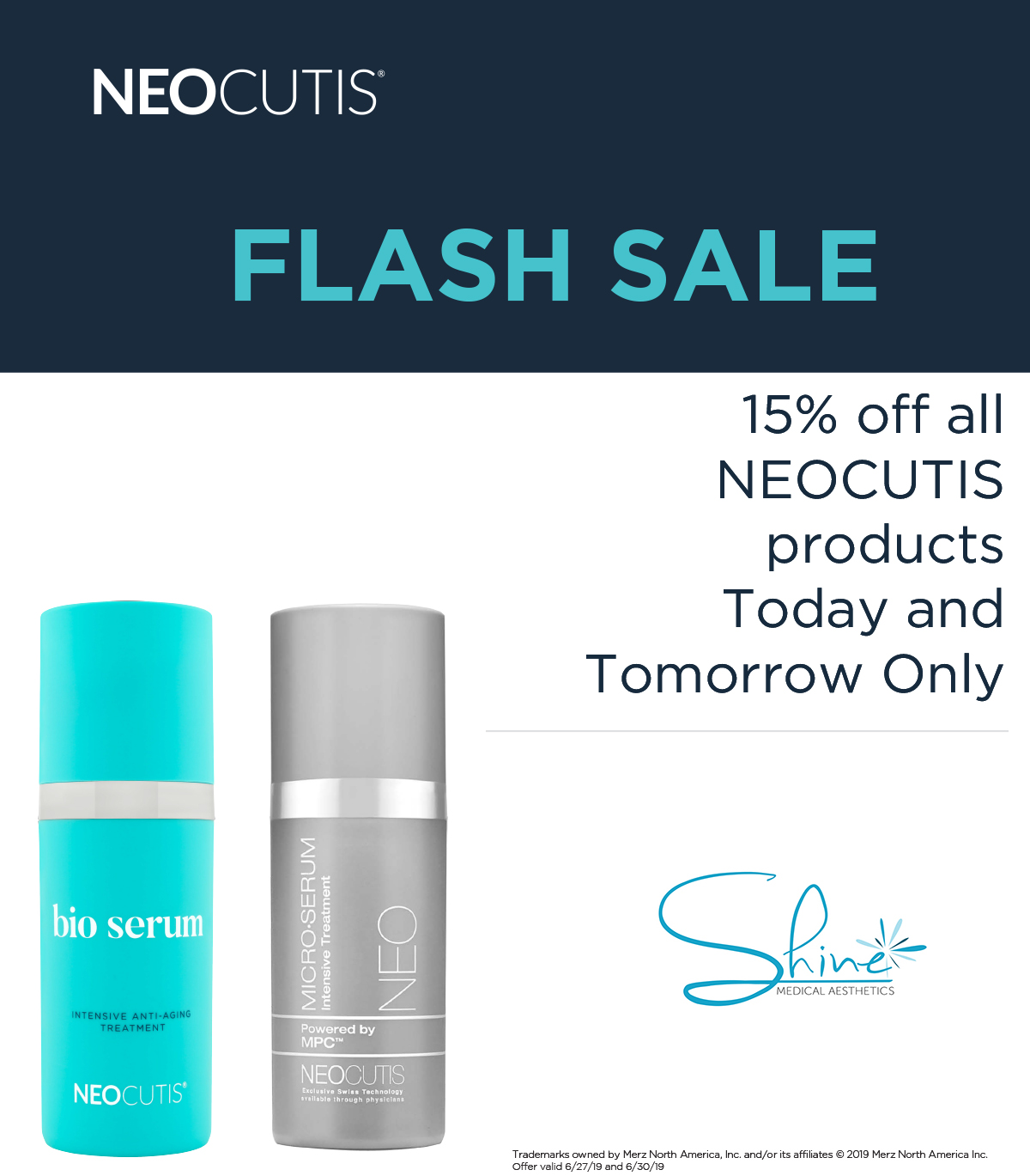 NEOCUTIS FLASH SALE