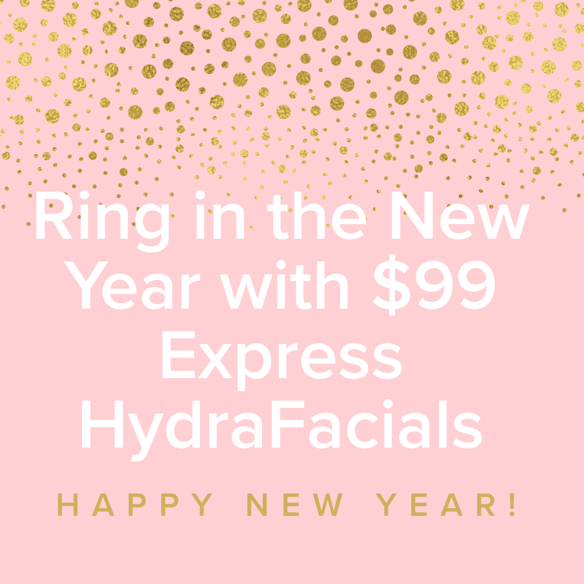 Last Day To Purchase $99 Express HydraFacial Treatment