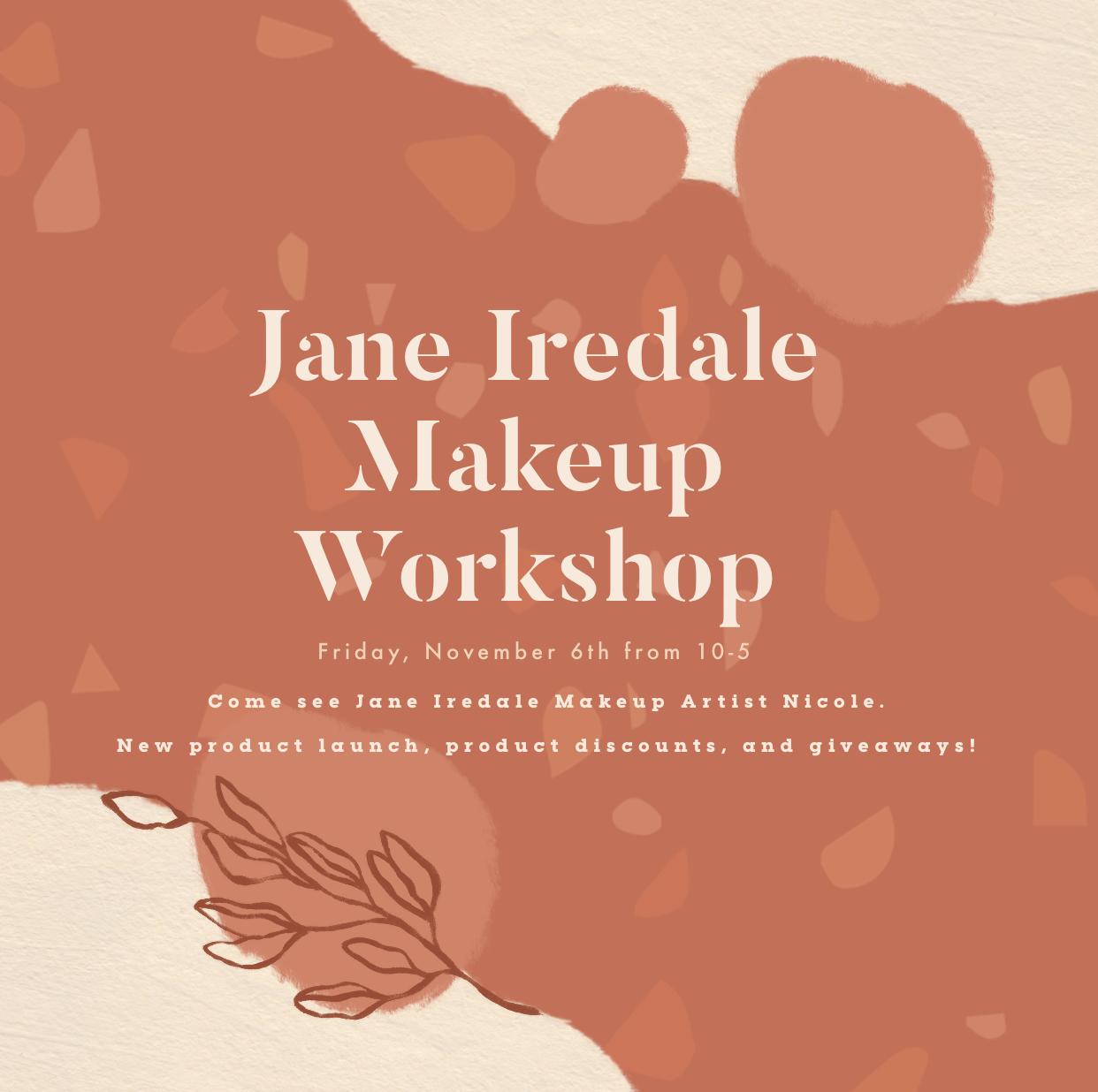 Jane Iredale Makeup Work Shine